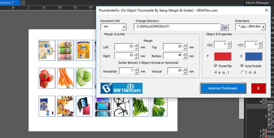Free Macro Collections 2018 for CorelDraw ~ GRAFISin