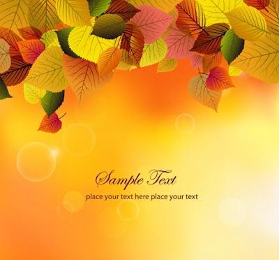 Hojas de oto o en vector y gratis illustrator ai eps - Descargar autumn leaves ...