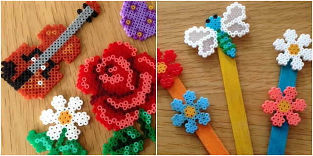 Mini Hama bead projects