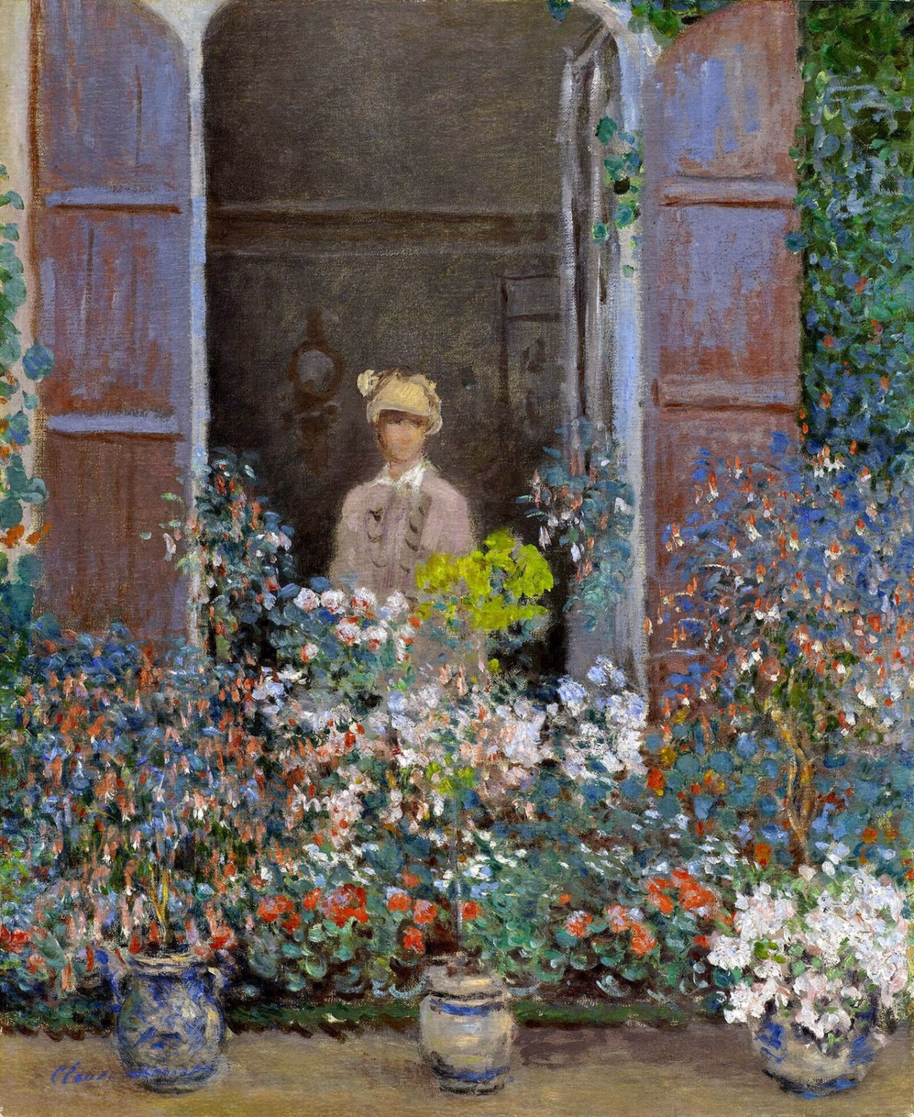 Claude-Monet-Camille-Monet-at-the-Window-Argenteuil-1873