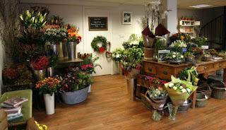 Florist shop in Hanoi