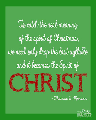 Thomas S Monson Christmas printable