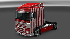 FAB Red for DAF XF 50keda