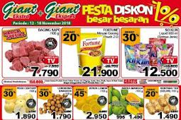 Katalog Promo Giant Weekday 12 - 18 November 2018