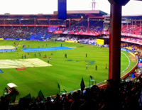 From Chinnaswamy Stadium, Photos of Pakistani Cricketer's has Removed