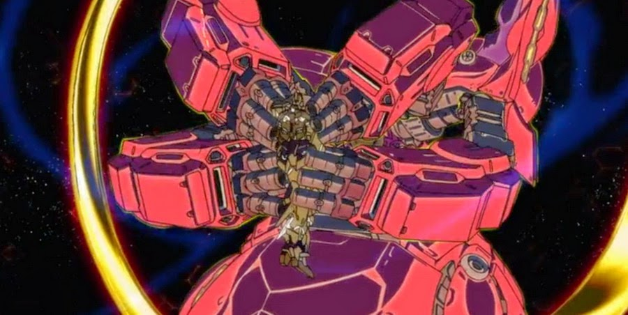 "Gundam Unicorn Episode 7 ""Over The Rainbow"" Neo Zeong ..."
