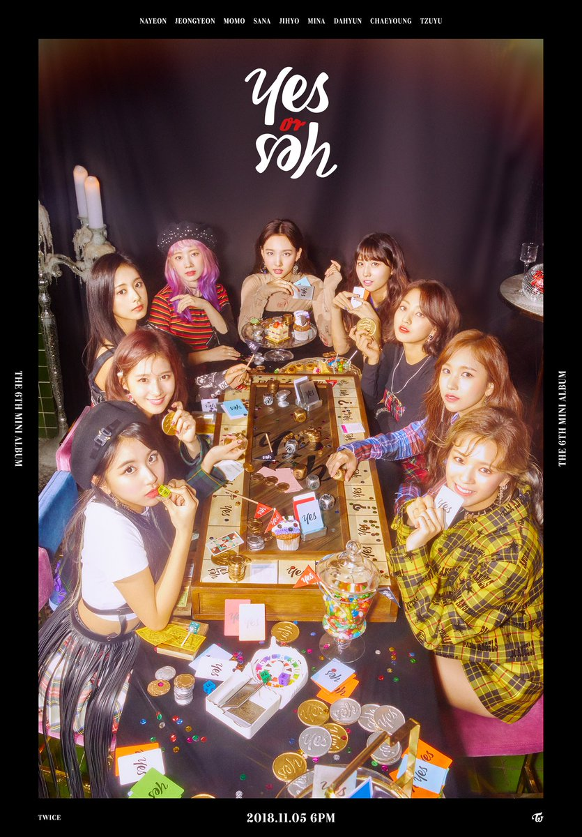 TWICE Play Poker on 'Yes or Yes' Comeback Teaser