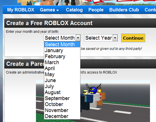 Making a ROBLOX Account   Calico Cats