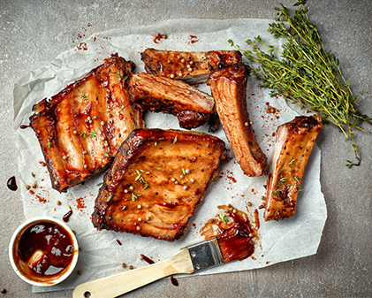 tender pork ribs