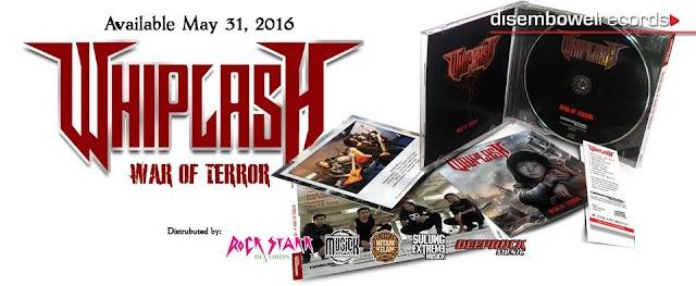 WHIPLASH - War of Terror On May 31, 2016 !