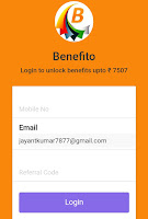 benefito-app-get-free-paytm-cash-refer-and-earn-trickspur