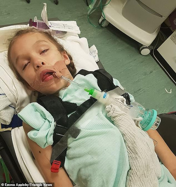 A Girl With Up To 300 Epileptic Seizures A Day Is Cured With Cannabis Oil