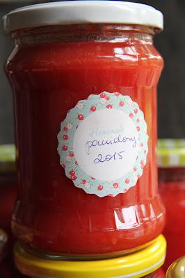 Przecier pomidorowy/ passata pomidorowa