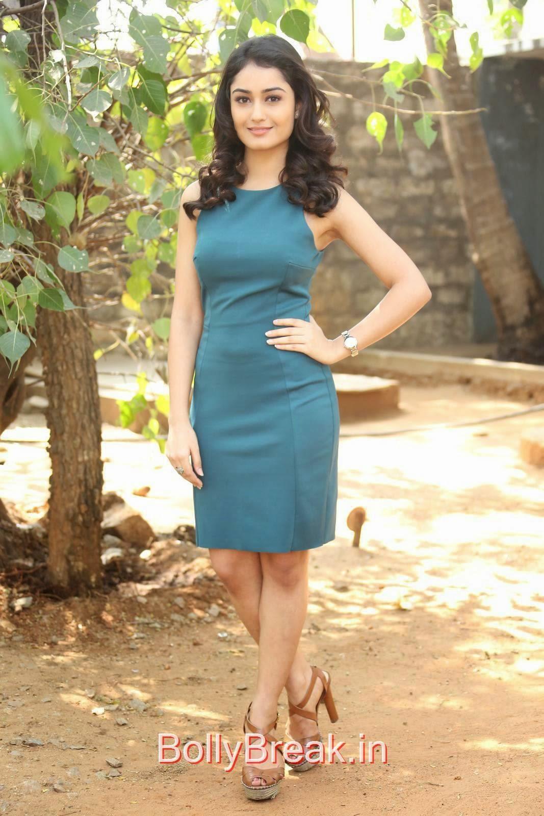 Tridha Choudhury Unseen Stills, Tridha Choudhury Hot Pics In Blue Dress