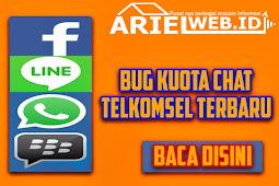 Bug Kuota Chat Telkomsel Terbaru 100% Work