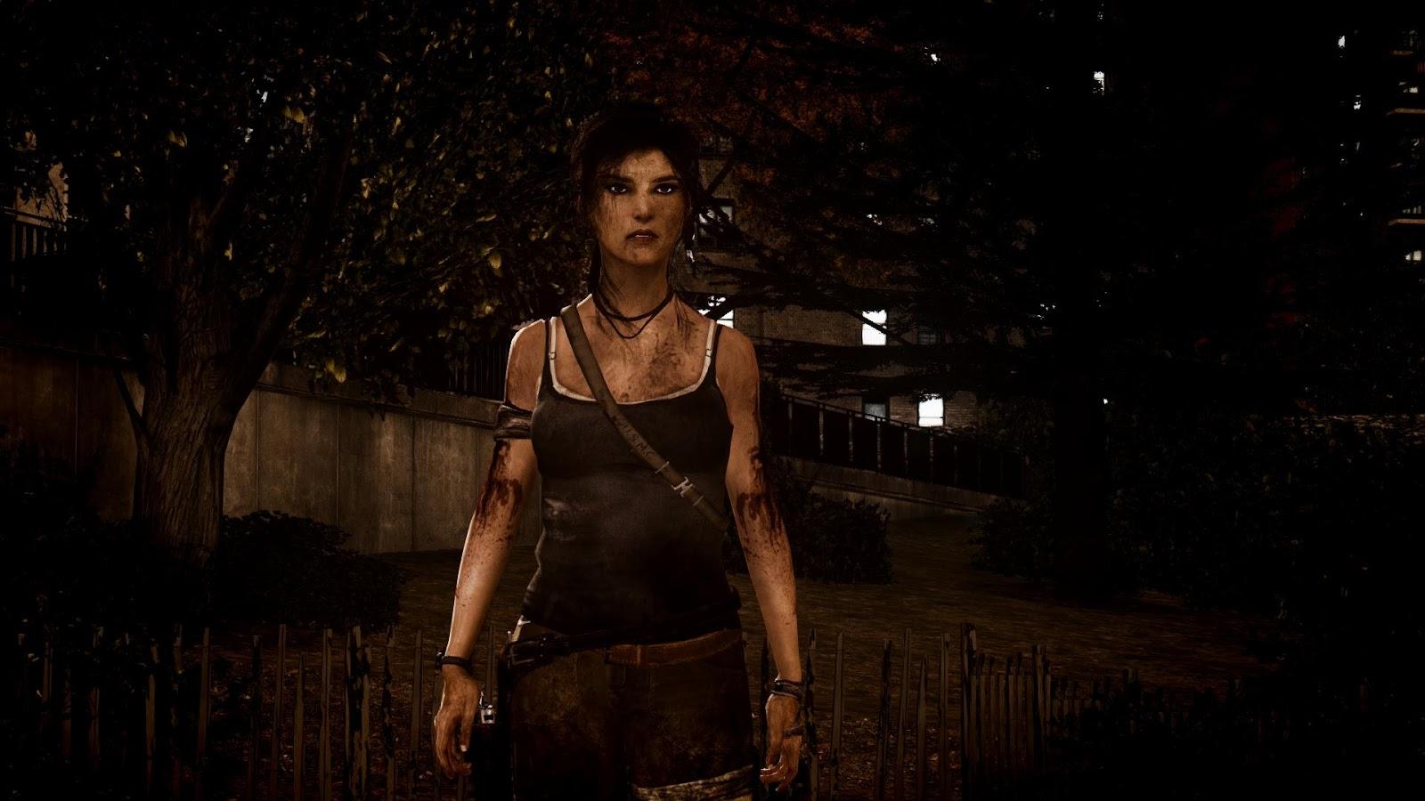 GTA 5,GTAV,GTA IV Mods and Skins: Tomb Raider 2013 Lara