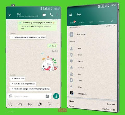 BBM Mod WhatsApp Apk 3.3.5.49 Clone Terbaru [WA]