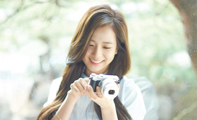 Black Pink S Kim Ji Soo Is A Beautiful Nikon Model