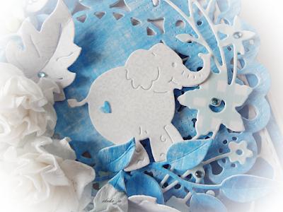 Z niebieskim słoniem