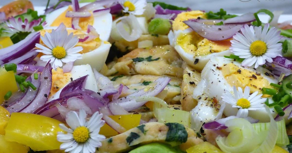 Mostviertler semmelkn delsalat - Gurken dekorativ schneiden ...