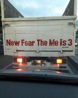 kata kata belakang truk paling lucu gokil