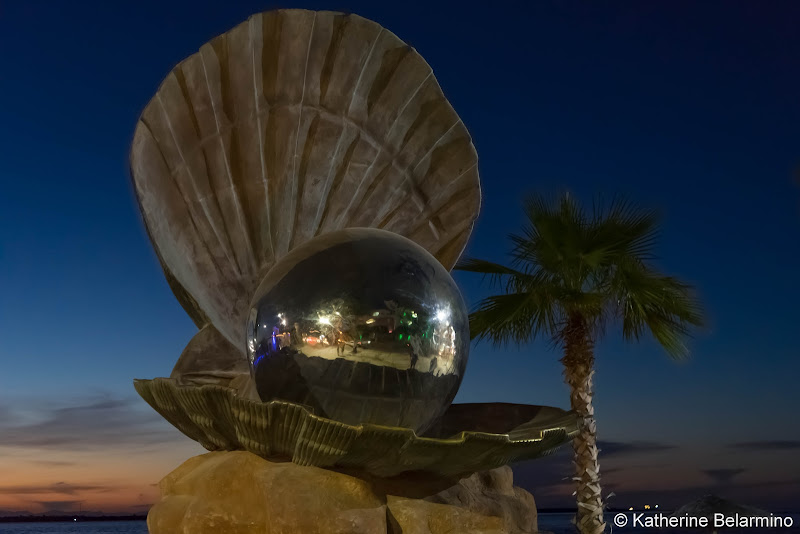 Malecon Oyster Sculpture Things to Do in La Paz Mexico
