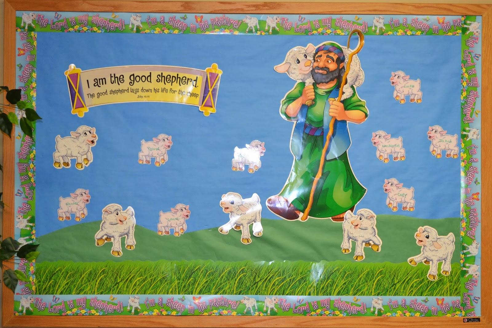 Bible Fun For Kids Psalm 23 By David The Shepherd