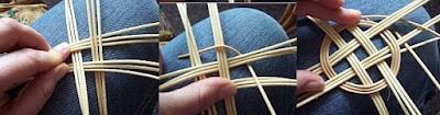 Elişi hasır sepet bardak altlığı modeli yapımı, Resimli Açıklamalı 1