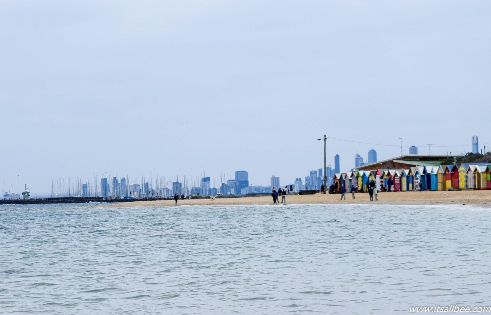 How To Get To Brighton Beach Melbourne's Bathing Boxes Beach #itsallbee #australia #traveltips #beaches #ocean #vacation #takemethere #beachlife