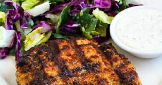 Kalyn's Kitchen®: Grilled Fresh Salmon Burgers with Caper ...