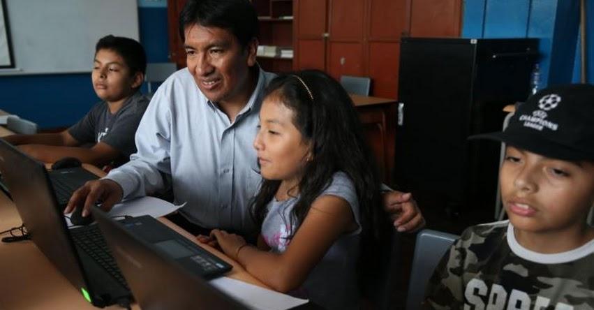«GRACIAS, PROFE»: MINEDU te ofrece la posibilidad de saludar a tus profesores más queridos - www.minedu.gob.pe