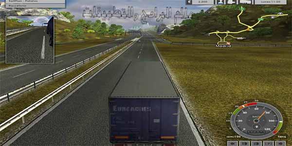 تحميل لعبة قيادة الشاحنات للكمبيوتر من ميديا فاير برابط مباشر 2 Download euro truck simulator