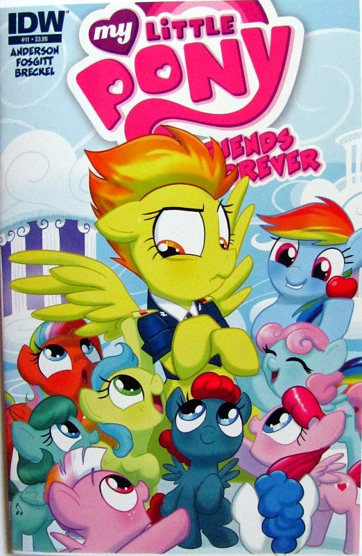 MLP Friends Forever comic issue #11, front cover