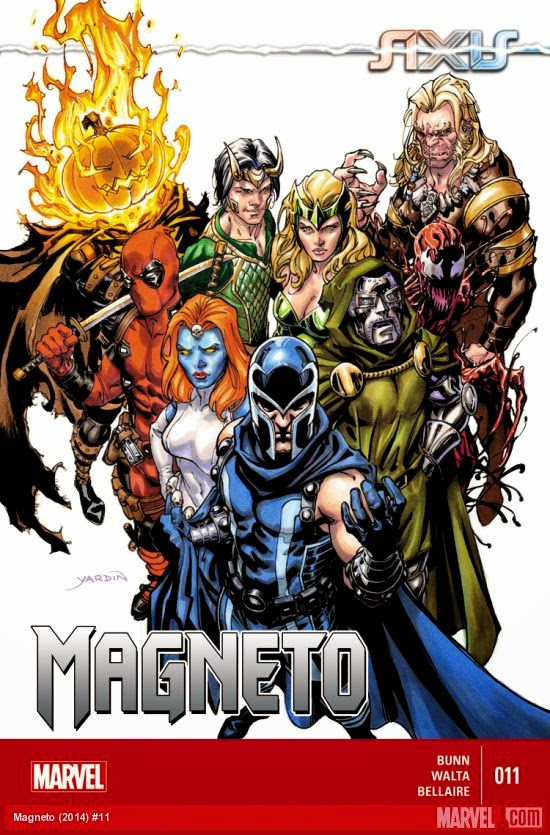 Magneto and the merry marvel posse