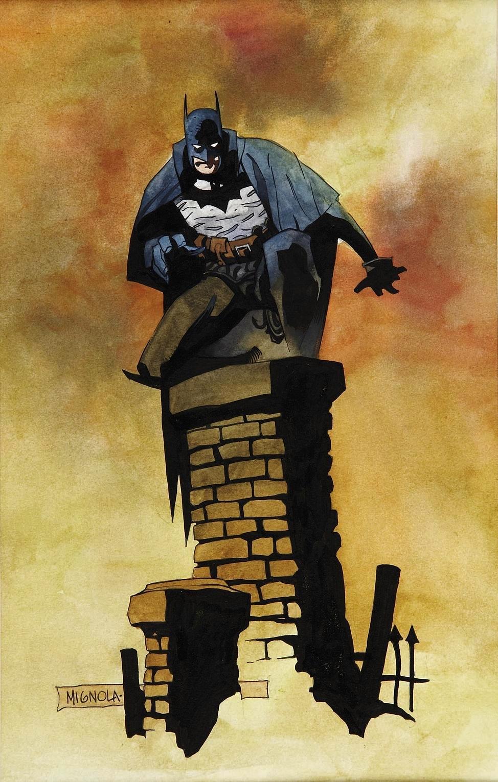 Dc Comics Of The 1980s 1989 Batman Gotham By Gaslight Promo Art
