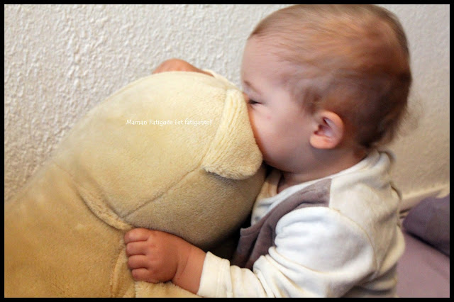 calin enfant nounours