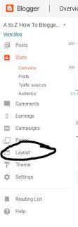 How to Open Designer area in blogger Platform.