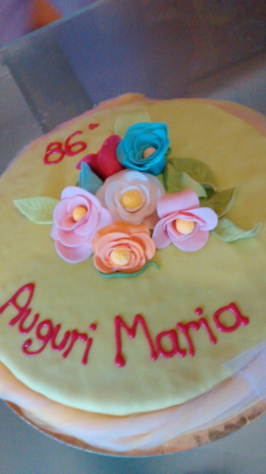 Corsi Di Cake Design Torino 2018 : MagicaFlo Cake Design Cuneo: Auguri Maria!