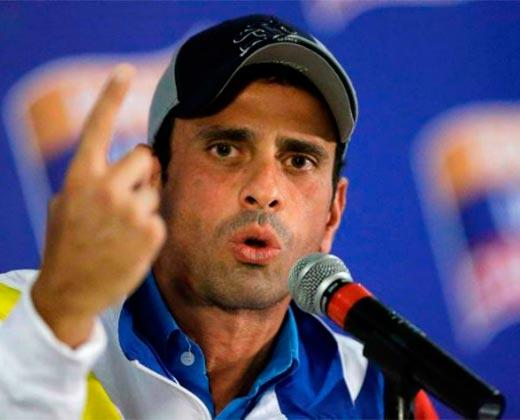 """¡A PONERSE LAS PILAS! Capriles: """"Si no reaccionamos tampoco habrá elecciones este año"""""""
