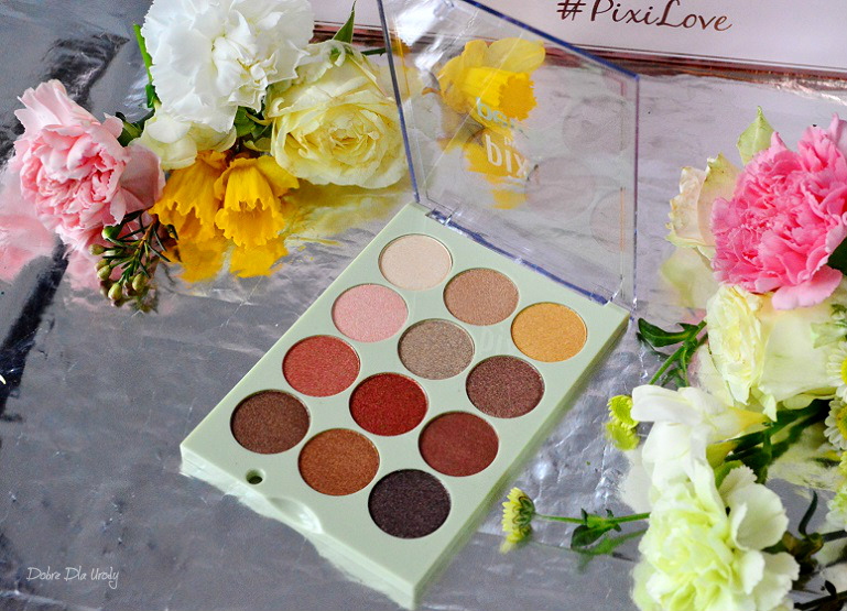 Pixi Eye Reflections Shadow Palette recenzja