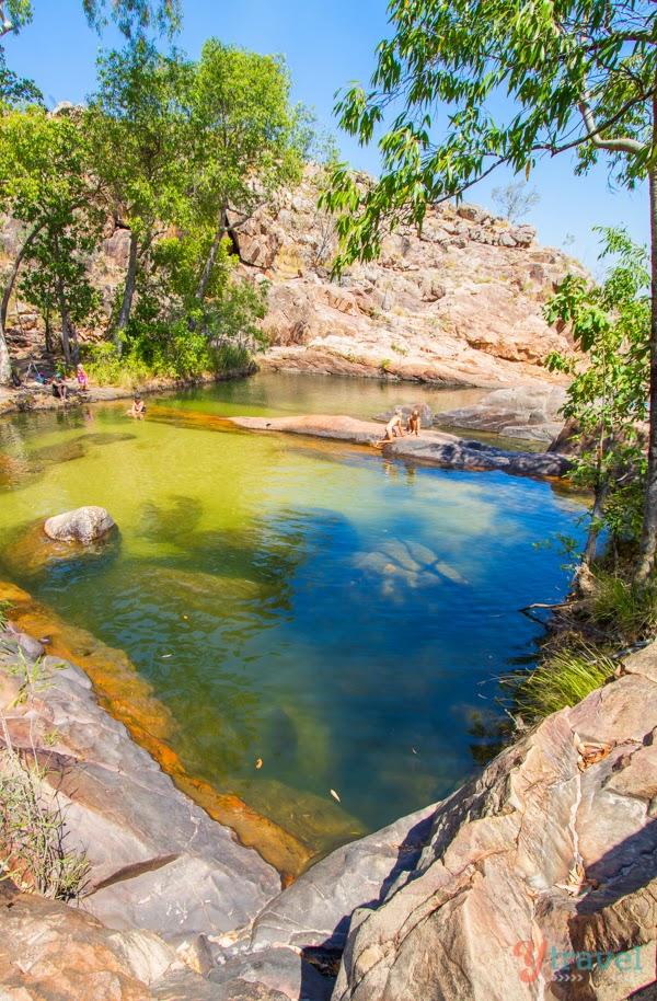 Gunlom Falls - Kakadu National Park, Australia -Kakadu National Park, Alligator Rivers Region, Northern Territory