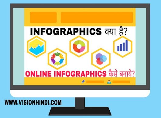 InfoGraphics क्या है?|Online Infographics कैसे बनाये?|Top InfoGraphics Submission Site - VISIONHINDI