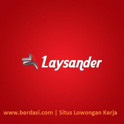Lowongan Yogyakarta Teknisi PT. Laysander Technology