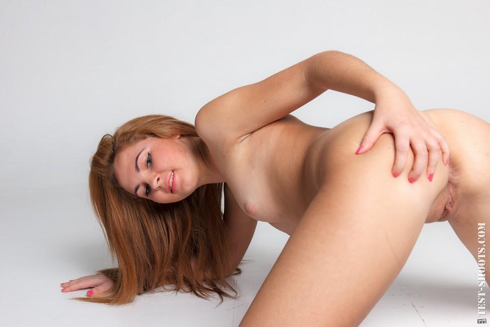 [Test-Shoot.Com] Karina - Virgin Teenager Casting