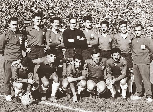 Formación de Chile ante Italia, Copa del Mundo Chile 1962, 2 de junio