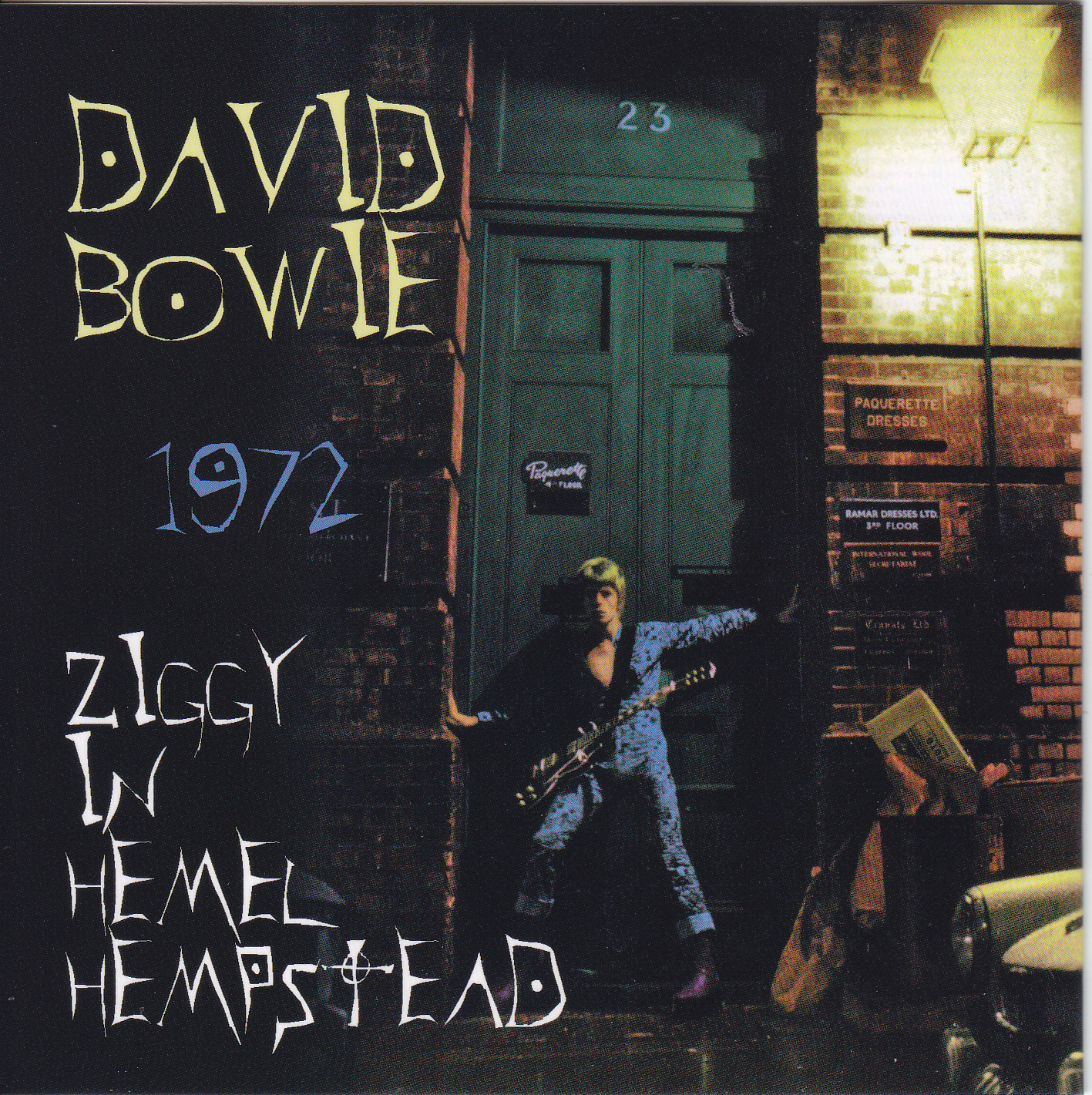 Reliquary: David Bowie [1972.05.07] Ziggy In Hemel Hempstead 1972