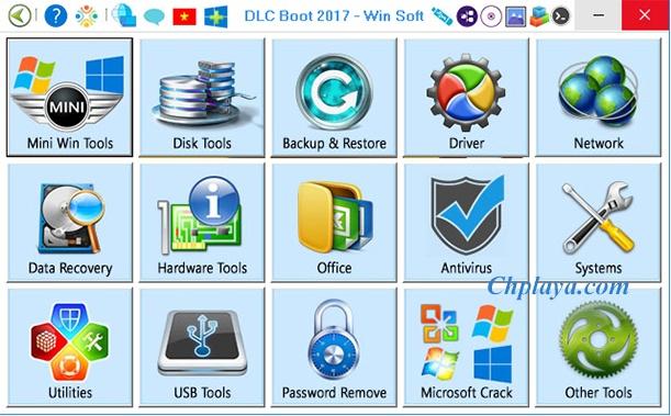 Download DLC Boot 2019 (v3.5) - Phần mềm tạo USB Boot, Cài Win 7/8/10 a