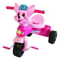 tajimaku sepeda roda tiga kucing