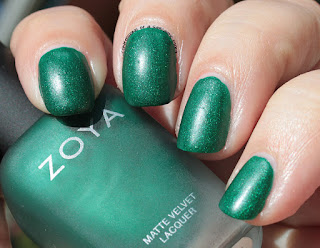 Zoya Matte Velvets for Winter 2015 - Honor