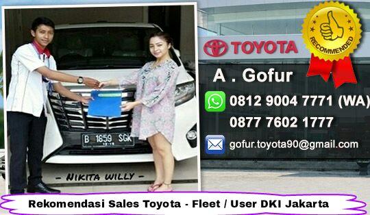 Rekomendasi Sales Toyota Jakarta Timur